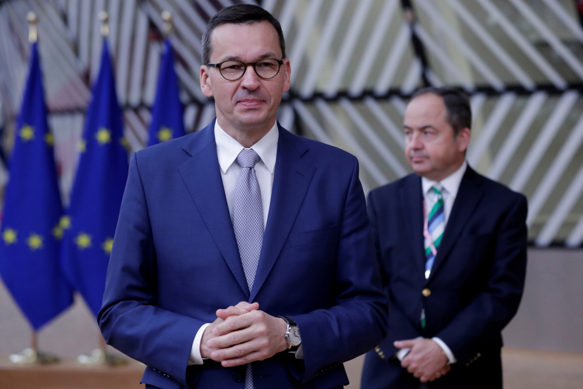 Poland PM compares EU to communist dictatorship in dramatic 'Polexit speech' in row that threatens to break up the bloc
