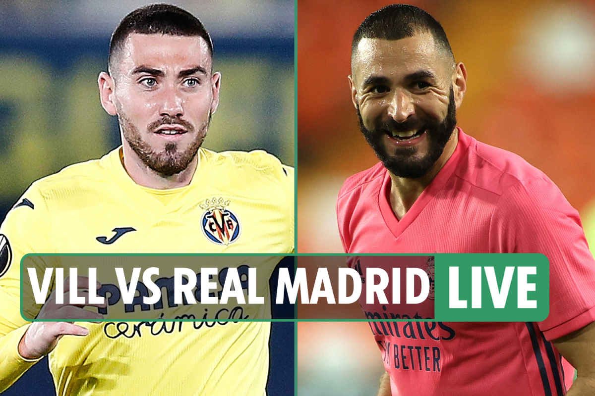Villareal vs Real Madrid LIVE: Stream, TV channel, score and teams as Mariano puts Los Blancos ahead – latest updates
