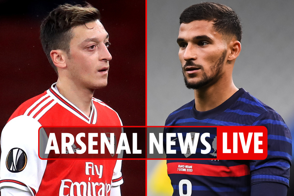 9am Arsenal transfer news LIVE: Ozil future LATEST, Aouar update, Rapid Vienna build-up