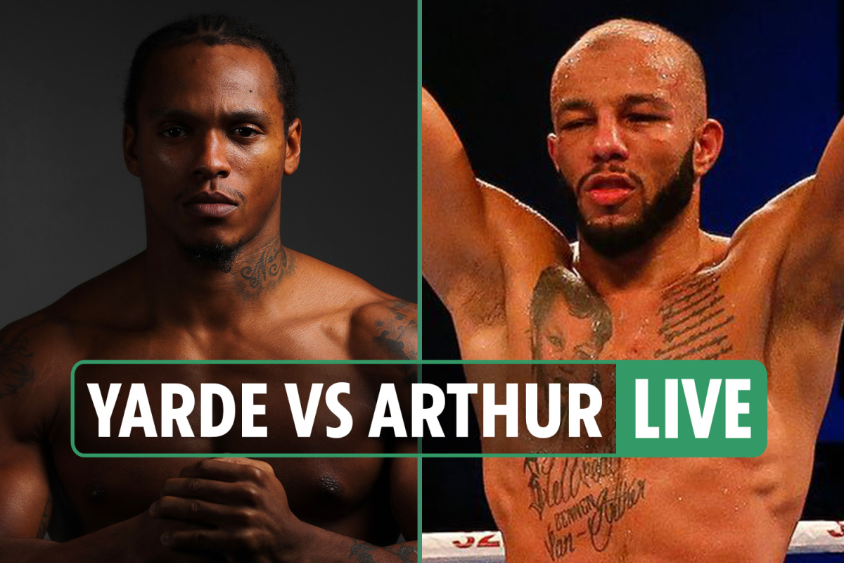 Anthony Yarde vs Lyndon Arthur LIVE: Stream FREE, TV channel, start time and undercard for TONIGHT'S domestic dust-up