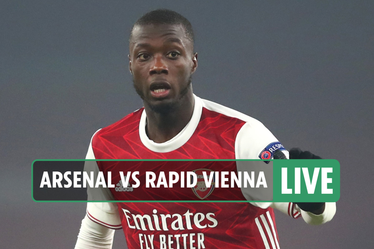 Arsenal vs Rapid Vienna LIVE SCORE: Smith Rowe nets Gunners' fourth  – stream FREE, TV, Europa League latest updates