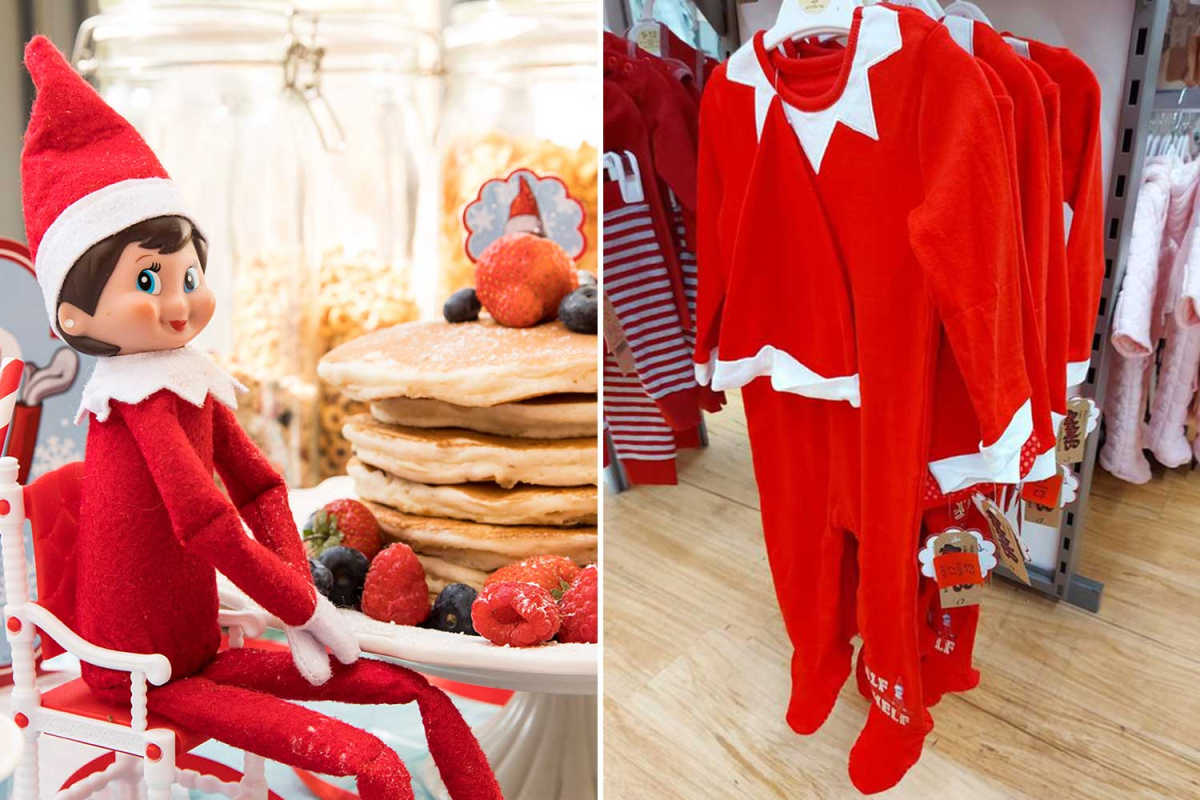 Asda is selling Elf on the Shelf sleepsuits for kids & they're down to just £3 with a hat