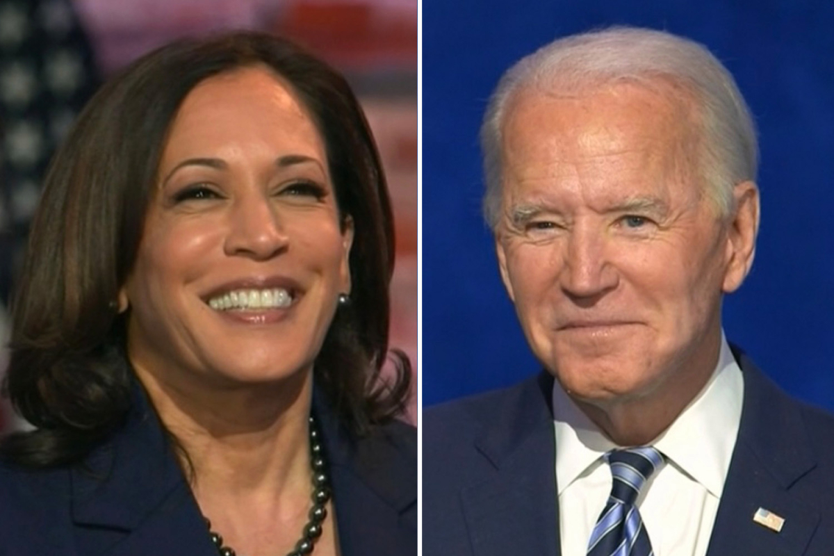 Biden vows to 'resign' if he ever argues with VP Kamala Harris says he 'would develop some disease' and step down