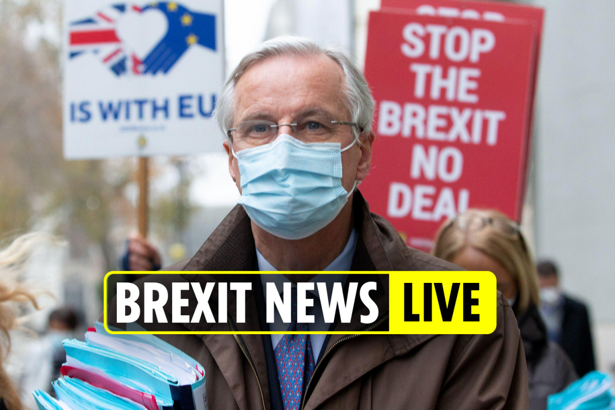 Brexit news latest – Barnier makes EMERGENCY call to EU states warning them to prepare for no-deal immediately