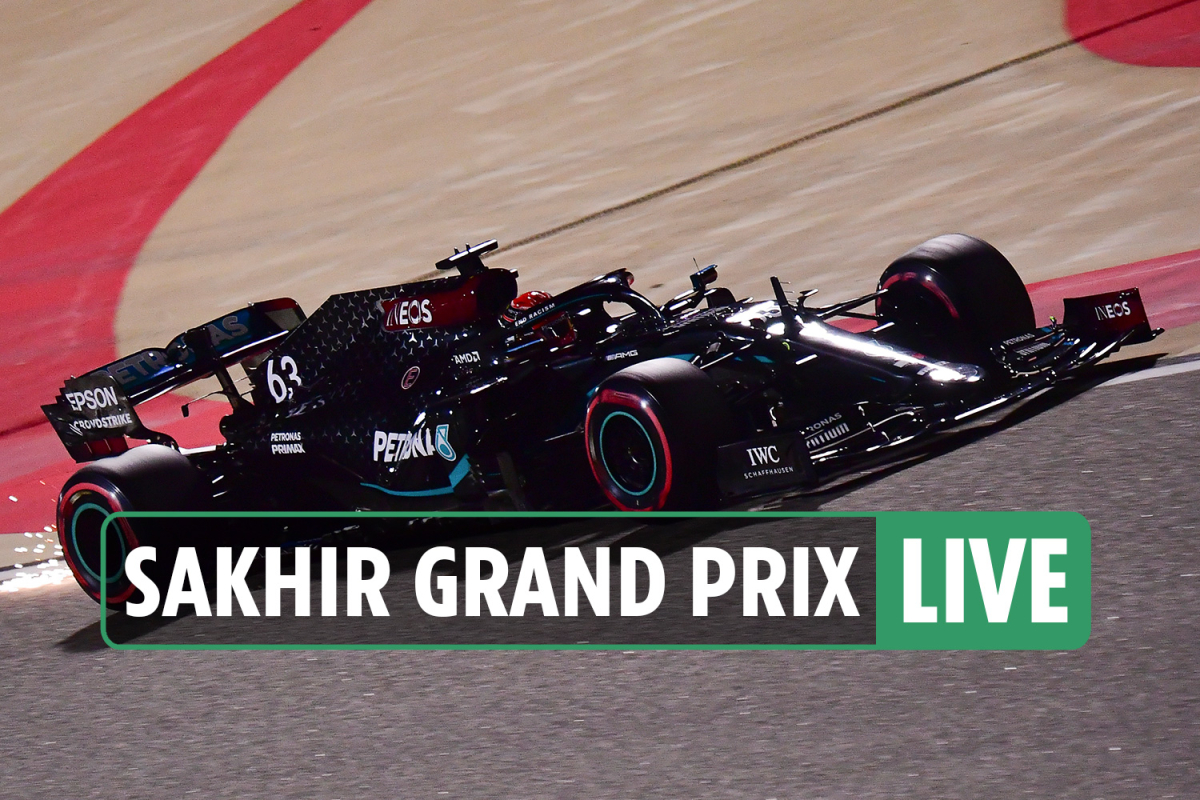 F1 Sakhir Grand Prix qualifying LIVE: George Russell TOP of practices, Bottas struggles – latest updates, results
