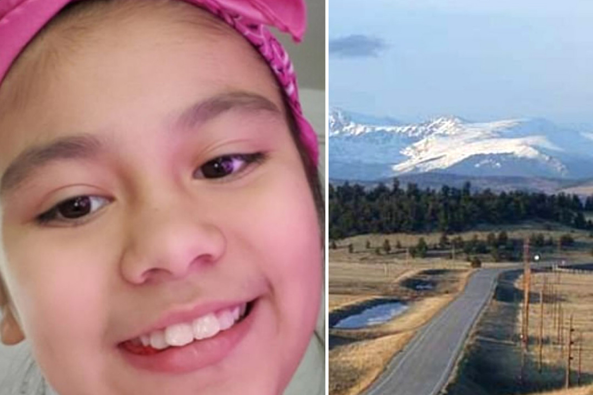 Girl,10, crushed to death under dad's pickup after losing control of her sled while he was towing her in Colorado