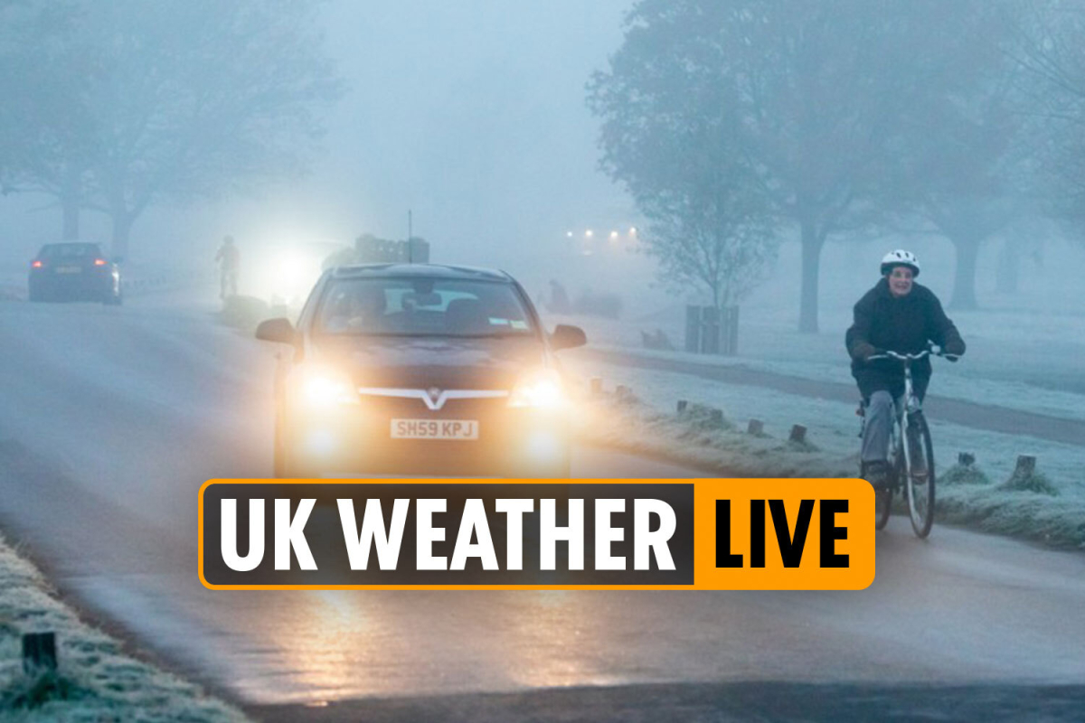 UK Weather forecast today – Cold winds to sweep Britain bringing hail, sleet and snow for DAYS