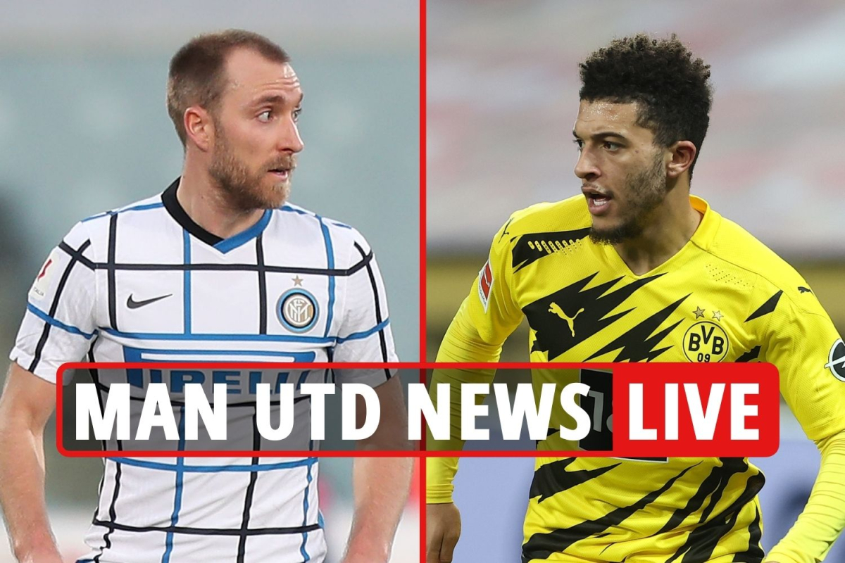 2.20pm Man Utd transfer news LIVE: Eriksen 'loan bid' eyed, Sancho could join THIS month, Sergio Ramos 'contact'