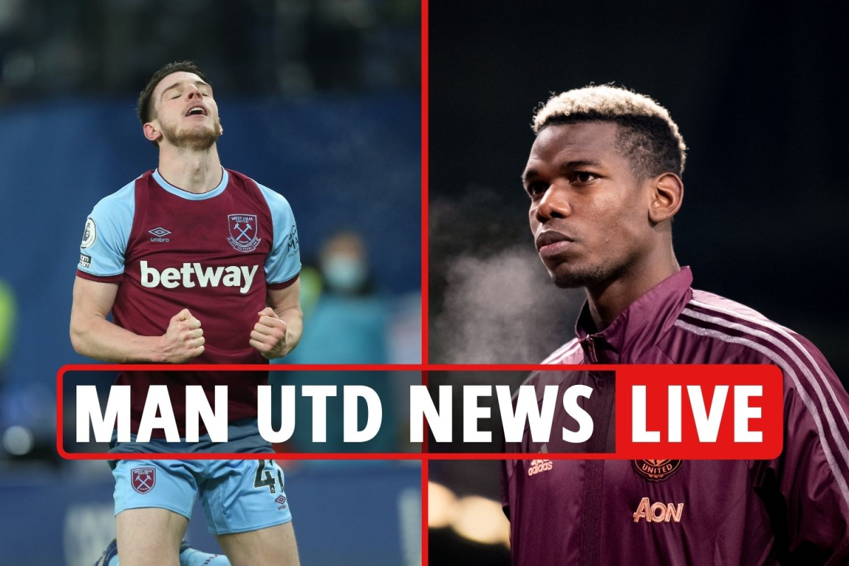 2pm Man Utd transfer news LIVE: Pogba to leave in summer, Declan Rice eyed, Rooney retires REACTION, Brooks LATEST