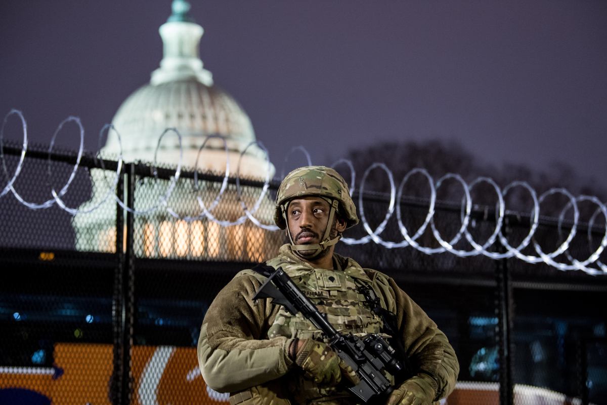 Biden inauguration – TEN states deploy National Guard and TX, VA & KY to SHUT Capitols as US braces for violent protests