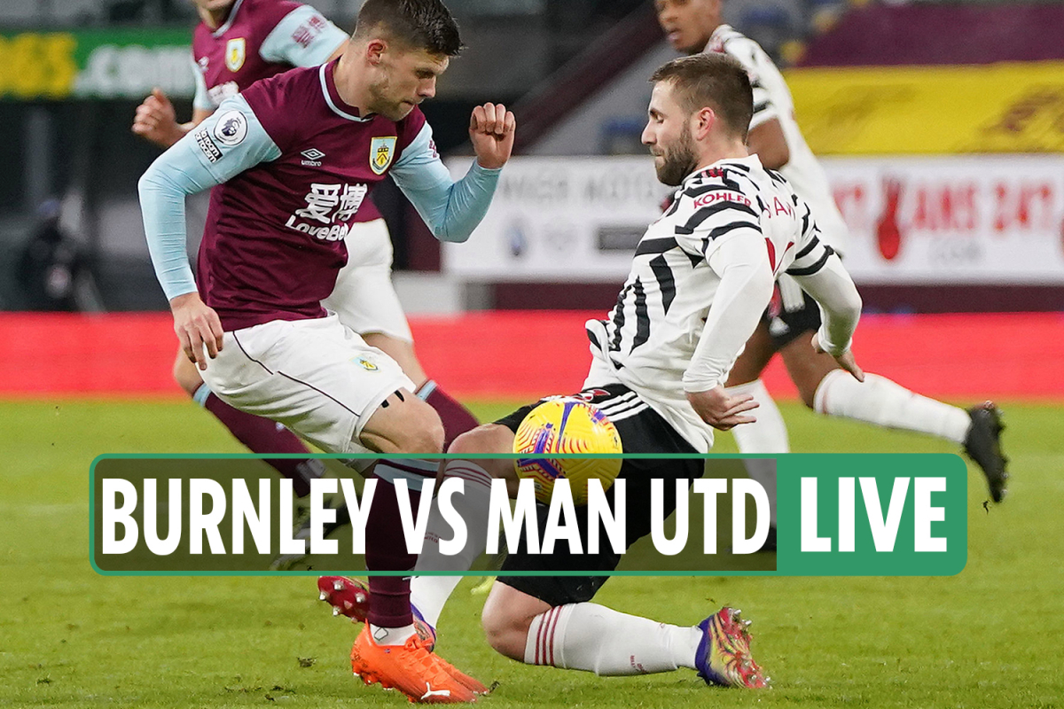 Burnley vs Man Utd LIVE: Stream, score, TV channel as Maguire header ruled out – Premier League latest updates