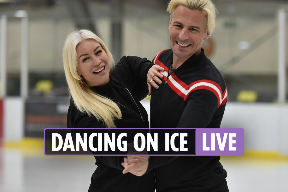 Dancing on Ice 2021 LIVE – Stars set to take to the ice for the first time TONIGHT