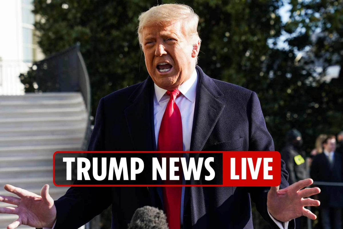 Donald Trump impeachment latest – Removal vans spotted at White House as President calls for 'no violence'