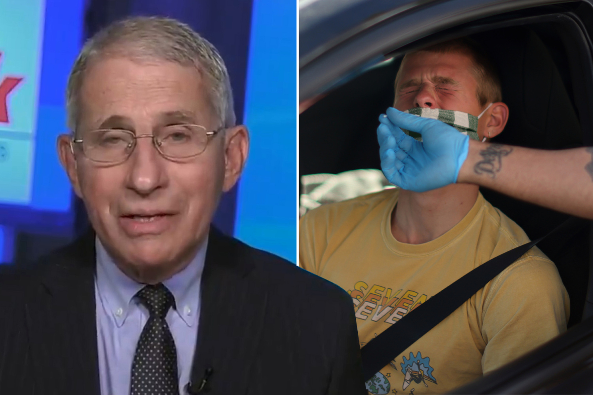 Dr Fauci warns there's a 'possibility' US has its OWN super-Covid strain after infection spike