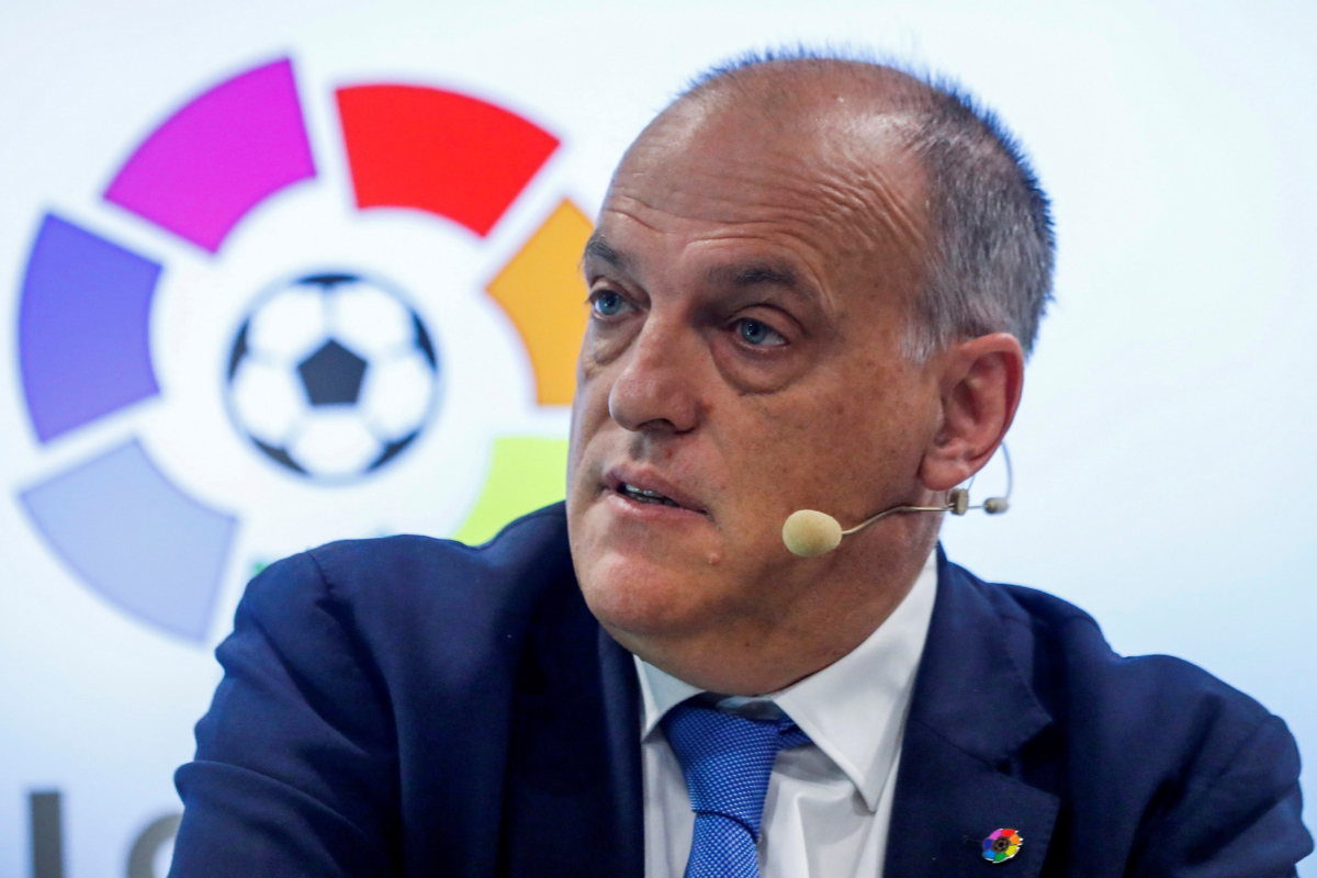 LaLiga chief Javier Tebas slams 'selfish' Prem Big Six and other Euro giants for backing planned 20-club Super League