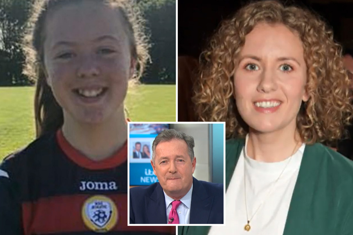 Piers Morgan forced to apologise as GMB shows photo of adult author instead of teen schoolgirl in 'awkward' blunder