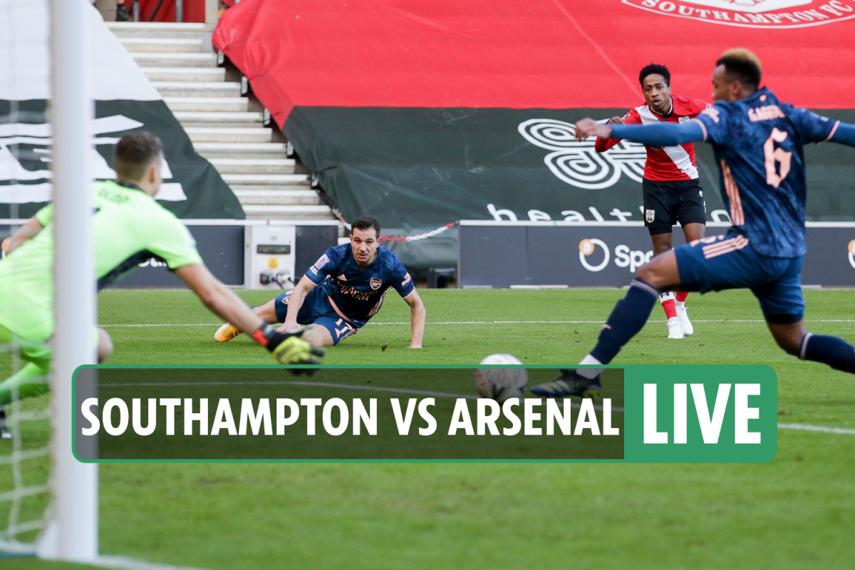 Southampton 1-0 Arsenal LIVE RESULT: Gunners FA Cup defence ends with a whimper as Walker-Peters scores only goal