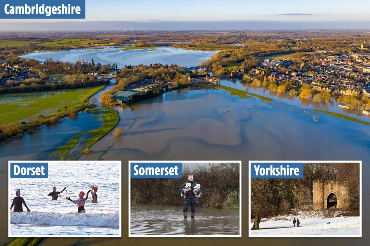 UK weather – Britain faces two months' rain in a DAY as floods spark 'danger to life' warnings