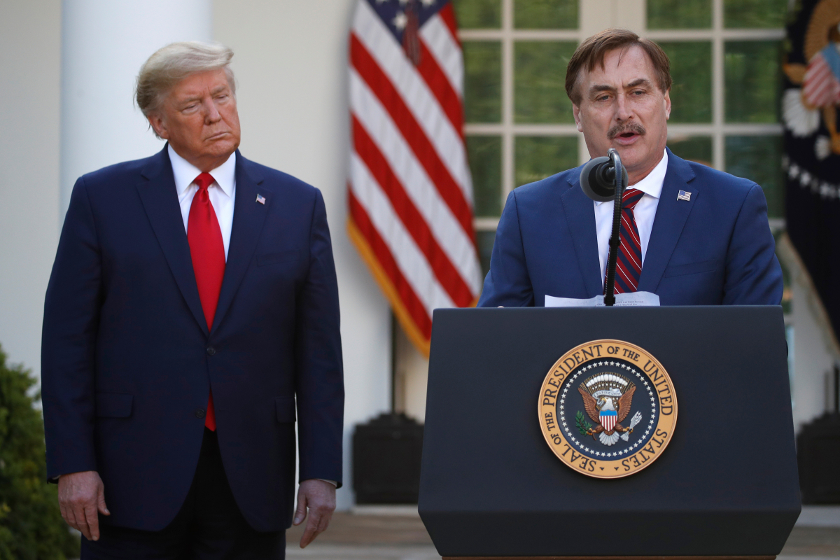 Who is MyPillow CEO Mike Lindell?