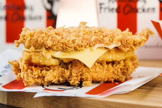 How to order the 'secret' KFC hash brown Double Down burger in the UK