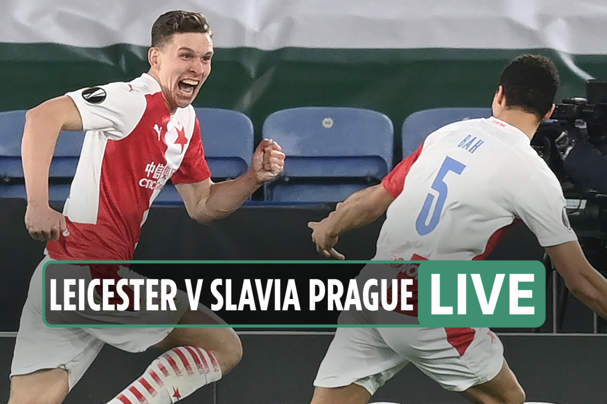 Leicester 0 Slavia Prague 2 LIVE REACTION: Provod and Sima net in second half to send Foxes crashing out of Europe