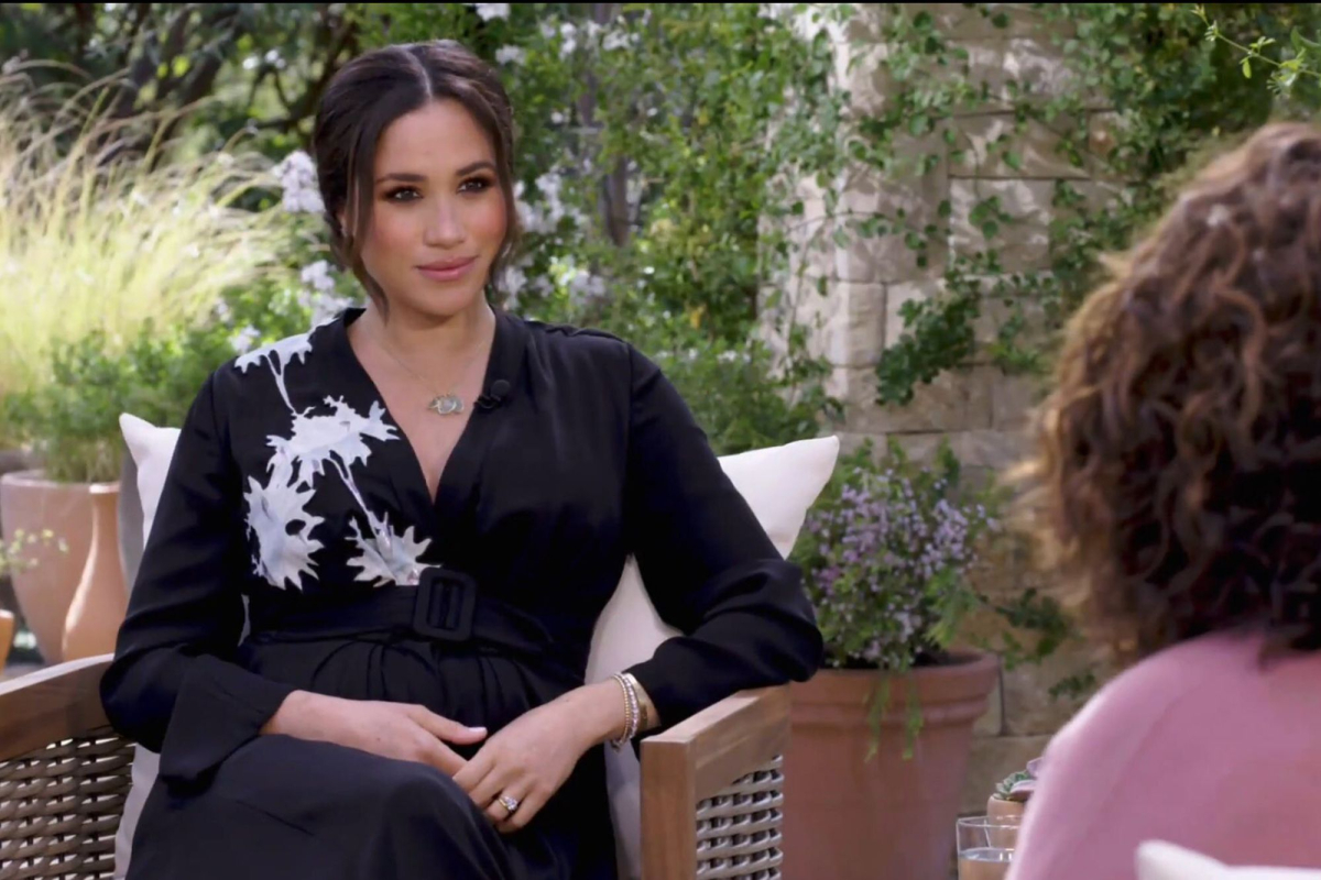 Meghan Markle latest news – Oprah asks Duchess whether royals SILENCED her in interview clip as Harry compares Meg to Di