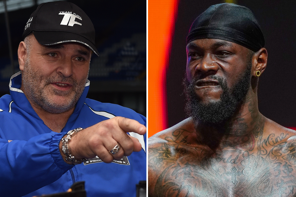 Tyson Fury's dad John says Deontay Wilder needs a 'punch in the mouth' and tells dethroned champ to 'keep twerking'