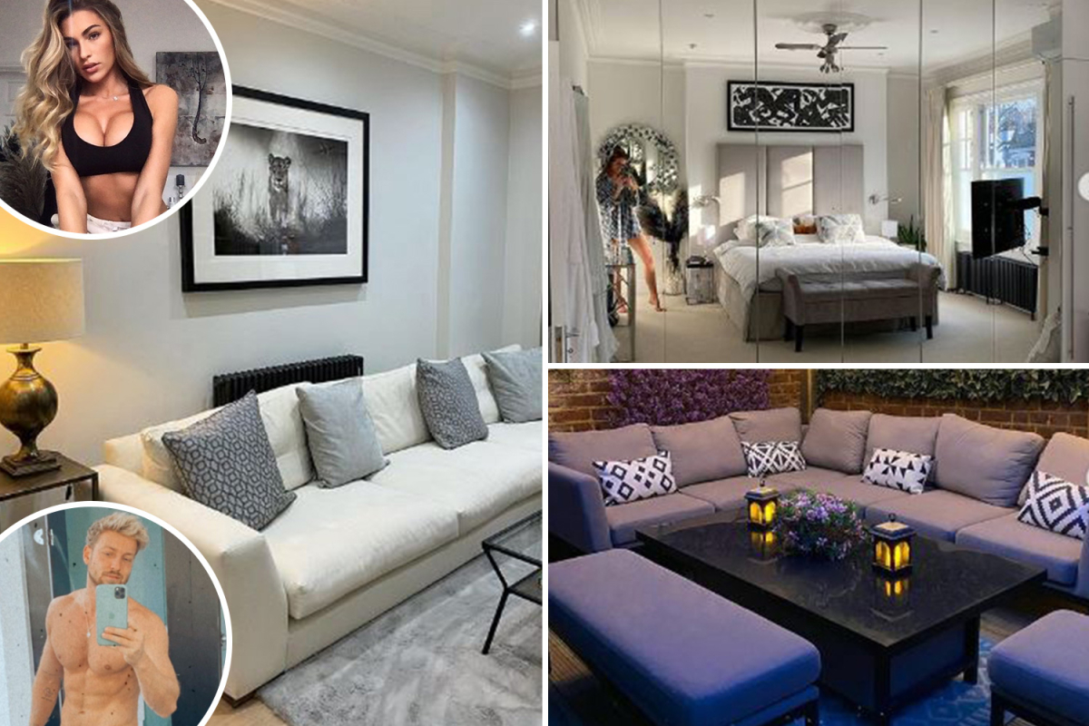 Inside Sam Thompson and Zara McDermott's incredible London home with gaming room, amazing garden and chic decor