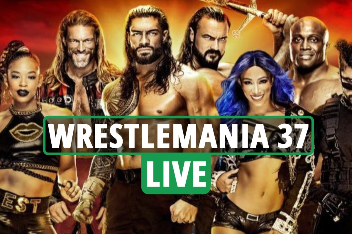 WWE WrestleMania 37 LIVE RESULTS: Night 1 ON after delayed start, live stream, TV channel, match card