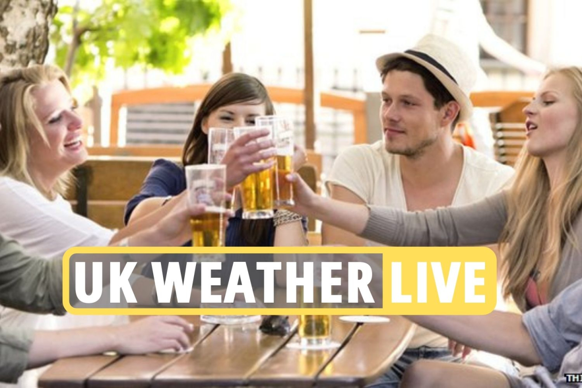 Weather forecast UK update – Temperatures to hit 17C next week in first blast of warm weather since pubs reopened
