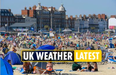 UK climate forecast LIVE – Brits to delight in 30C sunshine for 3 days earlier than thunderstorms hit England