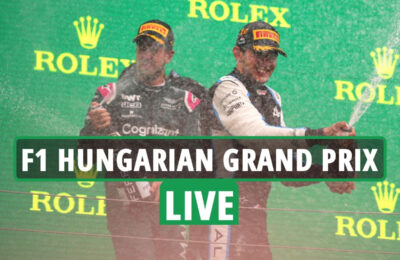 F1 Hungarian Grand Prix LIVE RESULTS: Lewis Hamilton fears he's affected by lengthy Covid after  'fatigue & dizziness'